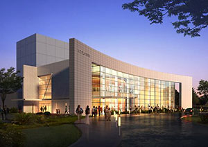 Proposed A.D. Players Theater, Westheimer Rd. at Westheimer Way, Galleria, Houston