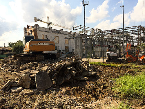 Substation Expansion, 612 Yale St., Houston Heights