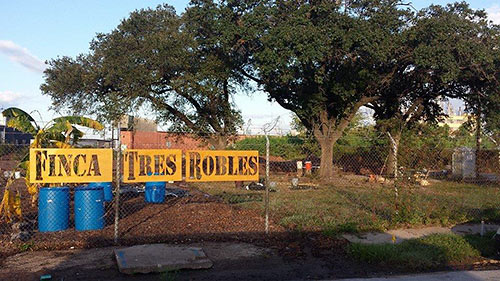 Finca Tres Robles Farm, 257 N. Greenwood St., East End, Houston