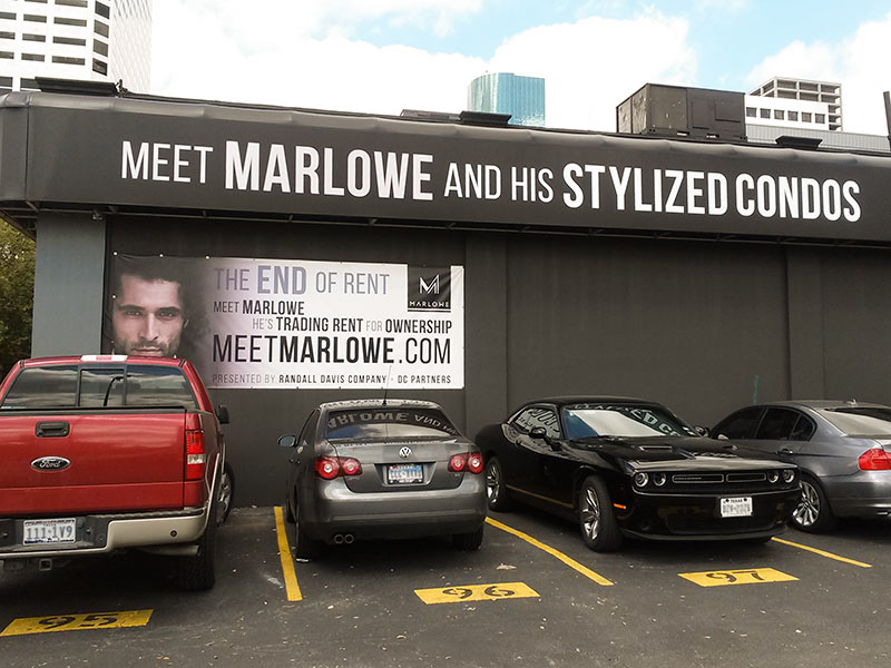 Marlowe Sales Office, 1311 Polk St., Downtown Houston